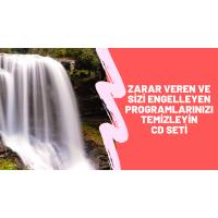 """""""SİZE ZARAR VEREN VE SİZİ ENGELLEYEN PROGRAMLARINIZI TEMİZLEYİN"""" CD SETİ"""
